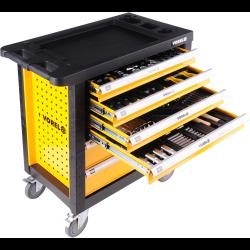 szafka serwisowa z narzędziami 6 szuf vorel