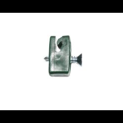 przelotka z wkrętem zielona fi4
