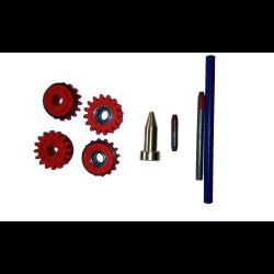 zestaw rolki i tuleje v f i 1.0 mm kempact 253r/323r kemppi