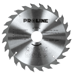 piła tarczowa do drewna 130mm 24zęby redukcja 20/16mm, proline