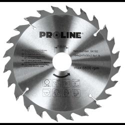 proline piła tarczowa do drewna 184mm 60 zębów redukcja 30/20/16mm 84186