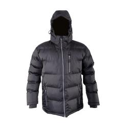 """kurtka zimowa ocieplana pikowana czarna """"l"""" lahtipro"""