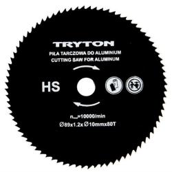 zestaw tarczy tnących hss 89x10mm do przecinarki tpw600k, 3 sztuki, tryton
