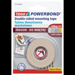 taśma montażowa powerbond do wnętrz 1,5mx19mm tesa