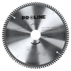 piła tarczowa do metali nieżelaznych 200x100tx30mm proline
