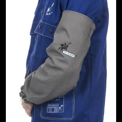 WELDAS rękawy spawalnicze wysokiej odporności trudnopalna bawełna 520 gr./m2