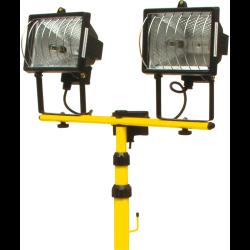 vorel 2 lampy halogenowe 400w na stojaku 82787