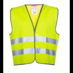 """lahtipro kamizelka ostrzegawcza żółta rozmiar """"xl"""" lpko1xl"""