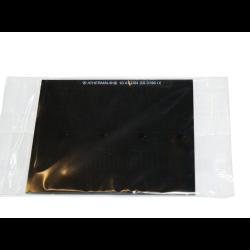 szkło czarne 50x100 mm din 10