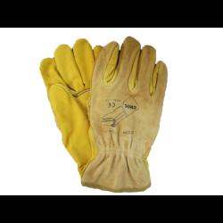 Rękawice robocze ze skóry 10-9334L