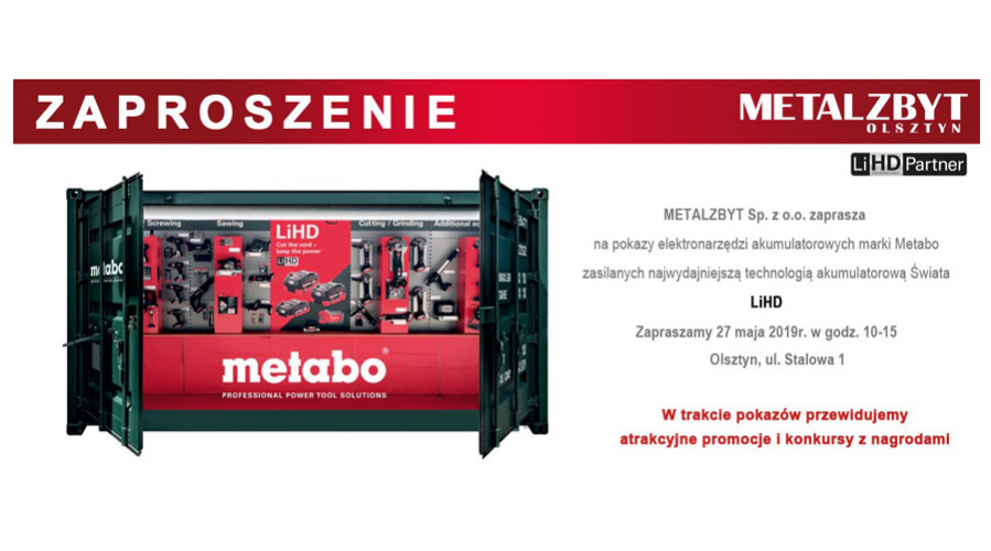 Metabo Roadshow
