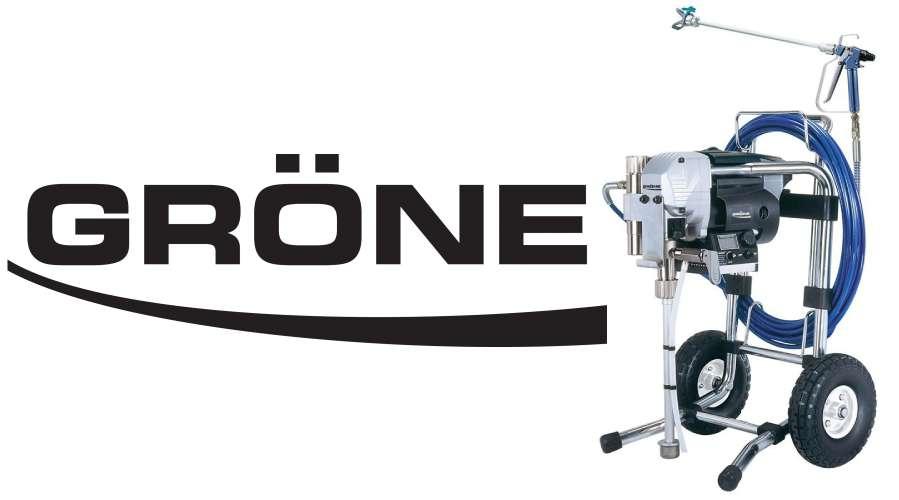 Profesjonalne agregaty malarskie Gröne - przegląd urządzeń